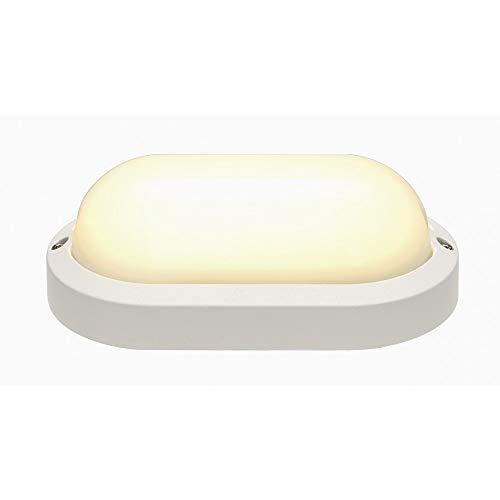 SLV TERANG 2 Outdoor-Lampe Aluminium/Kunststoff PC Weiß Lampe außen, Aussen-Lampe