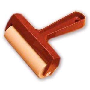 Pera marco plástico rodillo goma suave Pop-in rodillo