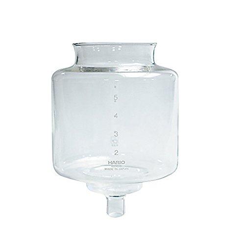 Hario VD Glas oberen Schale für Kaffee Siphon, transparent, durchsichtig, 6 Tassen
