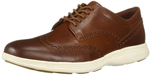 Cole Haan Men's Grand Tour Wing Oxford, Woodbury-Ivory, 11.0 M US