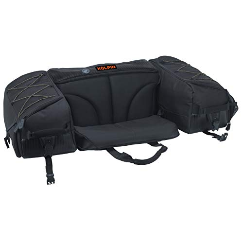 "Kolpin Matrix Seat Bag - Black - 91155, 32"" x 22"" x 11"""