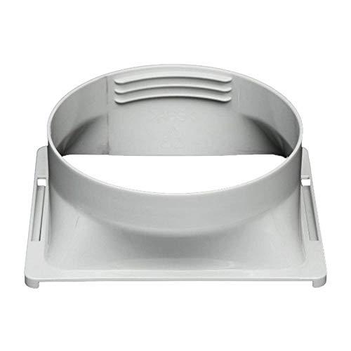 Renoble Interfaz de conducto de Escape Conector de Tubo de Aire Acondicionado portátil de 15 cm Conector Adaptador de Interfaz de conducto de Escape Universal para Aire Acondicionado portátil