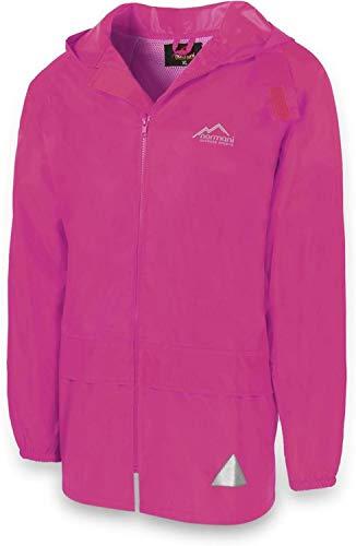 normani Leichte Windjacke/Regenjacke im Beutel, Unisex - Erwachsene Farbe Pink Größe L