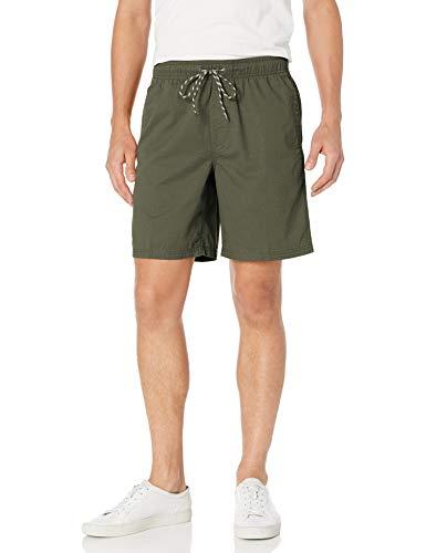 Amazon Essentials Men's Drawstring Walk Short, Olive, Large