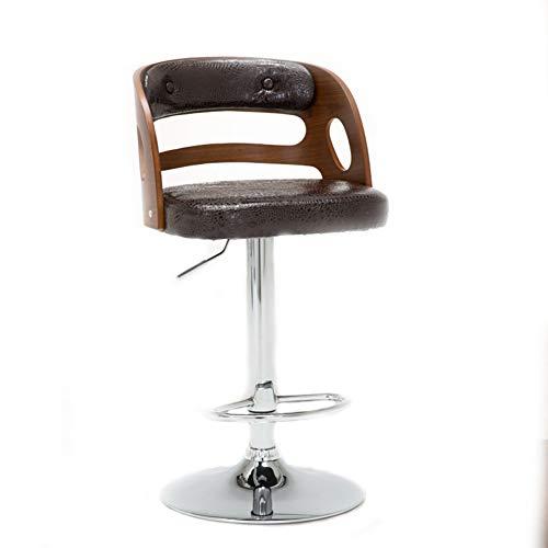 Hiel- en draaibare barkruk, tekenstoel, juwelierkruk, casseerstoel, kappersstoel, materiaal van staal, geschikt voor verschillende plaatsen, zuiver zwart