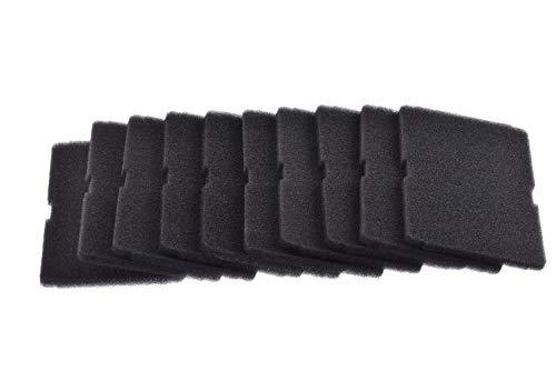 Kit de 10 filtros de esponja (ORIGINAL Beko) para evaporador secadora, Dimensiones: 150 x 240 mm, Código del recambio: 2964840200/2964840100