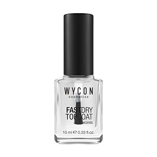 WYCON cosmetics NAIL FAST DRY TOP COAT