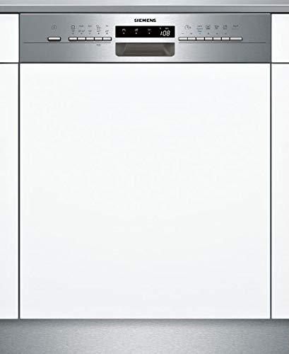 Siemens IQ500sn558s02pd Semi integrierter 13places A + + Spülmaschine–Geschirrspülmaschinen (Semi Integriert, weiß, Full Size (60cm), Edelstahl, Berühren, TFT)