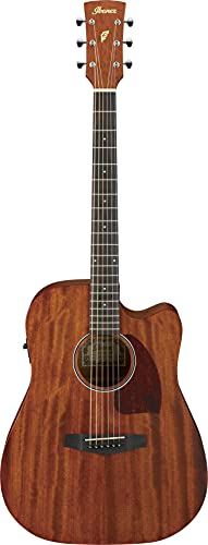 IBANEZ PF-Serie Westerngitarre Dreadnought Cutaway 6 String - Open Pore Natural (PF12MHCE-OPN)
