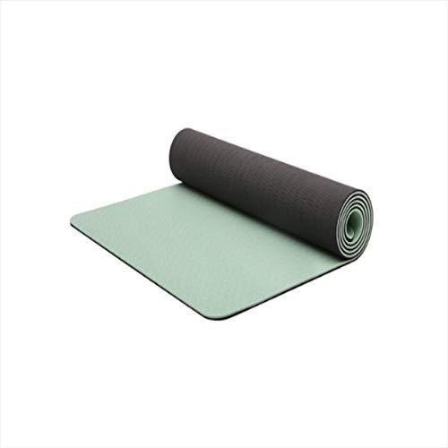 Liuying Almohadilla de Yoga para Mujeres 66 cm de Ancho Verde