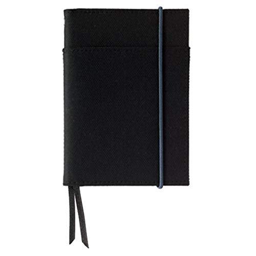 コクヨ カバーノート「SYSTEMIC active」システミックアクティブ(2冊収容タイプ)A7黒B罫30枚[ノ-657B-D] 5個セット
