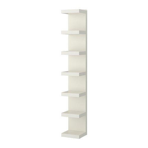 Ikea Lack Wandregal in weiß; (30x190cm)