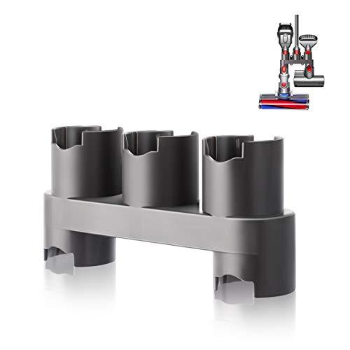 AIEVE - Supporto da Parete per aspirapolvere Dyson V7 V8 V10 V11, Niente più Accessori e Attrezzi (Grigio)
