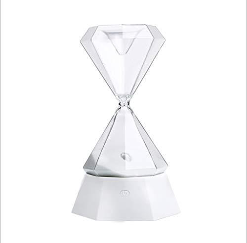 Crystal Hourglass Nachtlicht/Yoga Light/USB Romantik Nachtlampe/15 Minuten Stundenglas Timer/7...