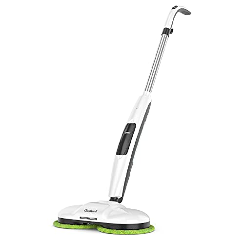 Gladwell Cordless Electric Mop, 3 in 1 Spinner, Scrubber and Waxer Quiet and Powerful Cleaner, Spin...