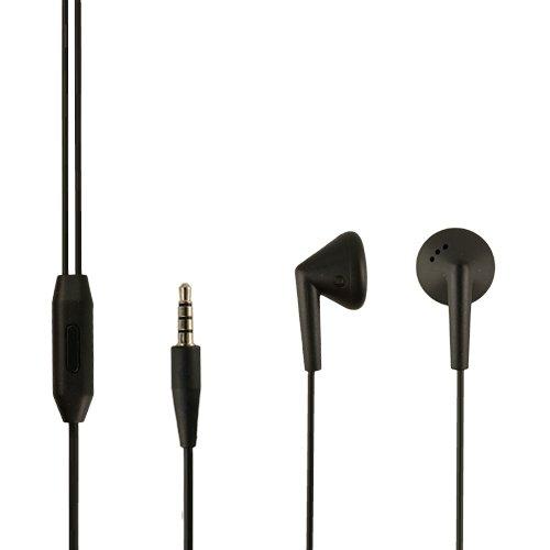 Blackberry Original Headset HDW-44306-001/03 in Schwarz für Z10 Kopfhörer Ohrhörer geformt Ohrstöpsel 3,5mm Stecker Stereo Sound