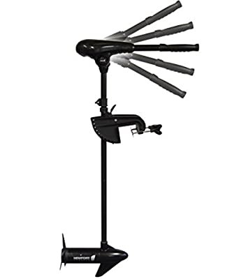 Saltwater 55lbs Thrust Transom Mount Electric Trolling Motor [Newport Vessels] review