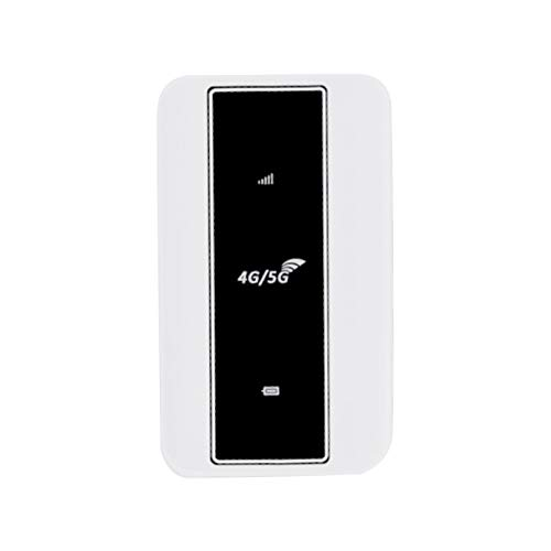 Fransande Router 4G MIFi Router WiFi 4G 150 Mbps Soporta tarjeta SIM 5G Hotspot WiFi Móvil de Coche con Ranura para Tarjeta Sim