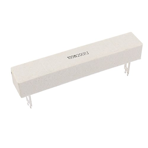 Aexit Ceramic Cement Fixed Resistors Power Electric Resistance Resistor 200 ohm Single Resistors 100W 200RJ