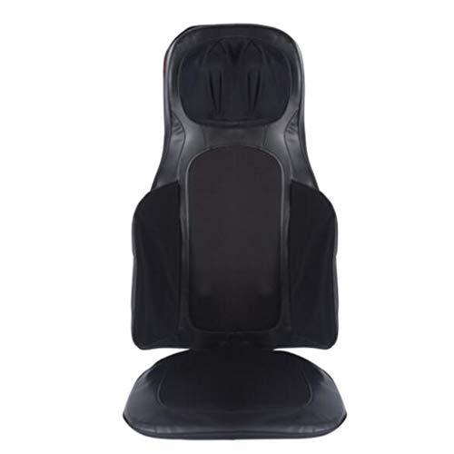Masajeador de cuello y espalda, Almohadilla de masaje ajustable en altura, Cojín de masaje amazónico tailandés. Ajuste de intensidad de 3 paradas, Se puede utilizar en oficinas, hogares y automóviles.
