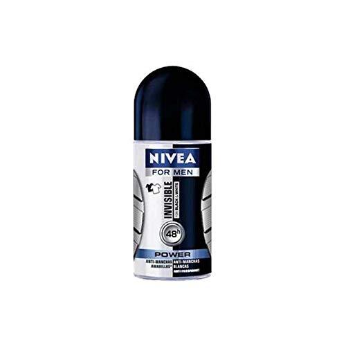 Nivea Men Desodorante invisible, no Residui blancos, 50 ml, paquete de 3
