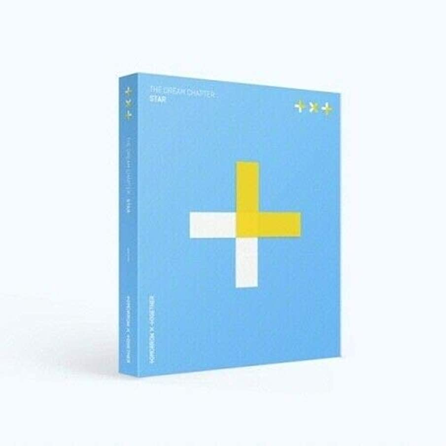 TXT - [Dream Chapter:Star] CD+1p Poster+80p PhotoBook+1p Ver.1 PhotoCard with Paper Frame+1p Ver.2 PhotoCard with Ring+1p Transparent PhotoCard+2p Sticker+Tracking K-POP Sealed