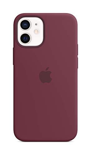 Apple SilikonHülle mit MagSafe (für iPhone 12 Mini) - Pflaume