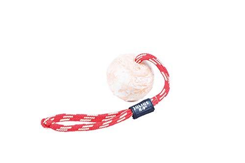 Julius-K9 IDC Natural Rubber Ball with Closable Handle, 3 in