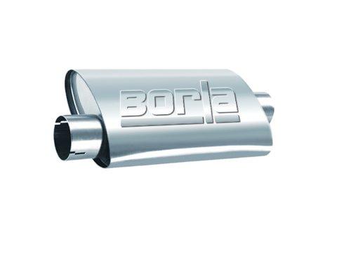 Borla 40659 Universal Turbo Center/Offset Muffler