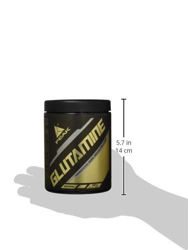 Peak Glutamin, Neutral, 500 g - 4