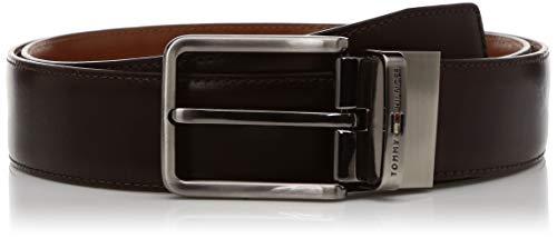 Tommy Hilfiger Men's Leather Belt (TH/DEACONREV0105S_Brown/Cognac_Small)