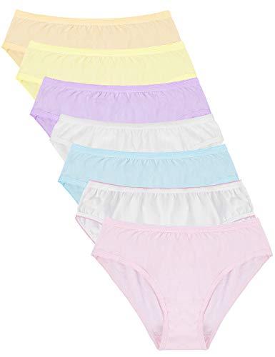Abollria Damen Einweg Unterhosen Baumwolle Stretch Essentials Einmal Unterwäsche Einmalunterhosen Wöchnerinnen Slips (3/5/7 STK) Waschbar Wochenbett Panties