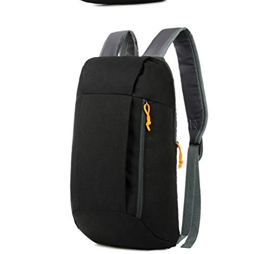 REGJ Mochila Deportiva Impermeable Pequeña Bolsa de Gimnasio Equipaje al Aire Libre para Bolsas de Viaje de Fitness (Color : Black)