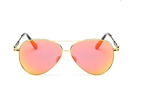 CMCL Caminante Gafas De Sol Polarizadas Clásicas Gafas De Sol De Moda De Los Hombres, Orange Capullos