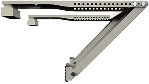 Universal Window AC Support - Air Conditioner Bracket - Support Air Conditioner Up to 105 lbs. - For 5000 BTU AC to 1...