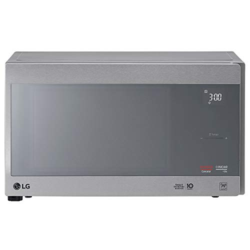 Microondas LG 42L Neochef Grill Prata Espelhado 110V MH8297CIR