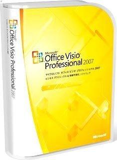 【旧商品/メーカー出荷終了/サポート終了】Microsoft Office Visio Professional 2007
