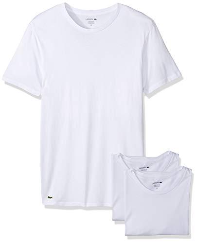 Lacoste RAME106 T-Shirt, Herren, 3er-Pack,Weiß,X-Large