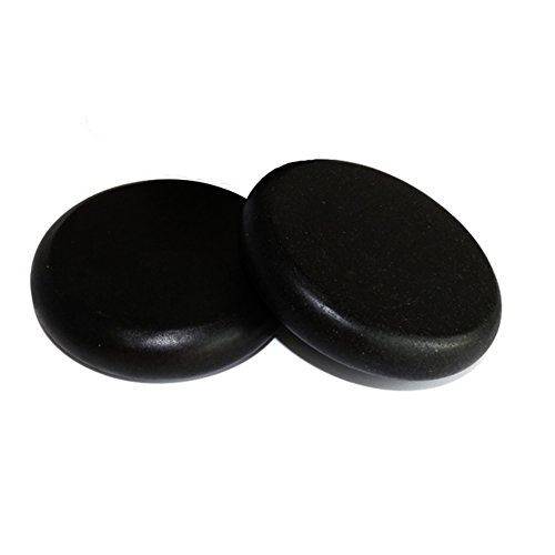 Big Save! Lifetop 2pcs /lot Massage Large Stones Massage Lava Natural Stone Set Hot Spa Rock Basalt ...