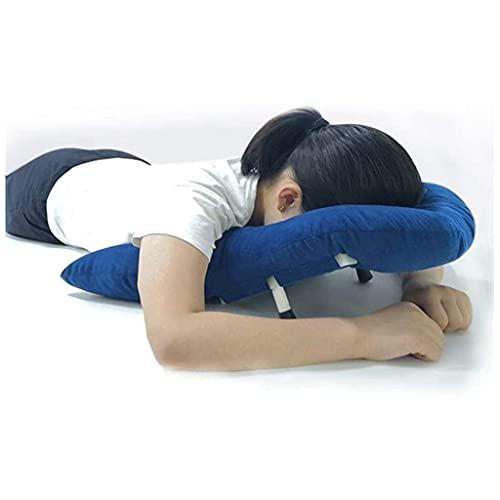 Almohada de soporte de cabeza / hombro transpirable suave duradero para pacientes con desprendimiento de retina, almohada boca abajo para pacientes de desprendimiento de retina durante la recuperación
