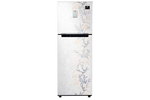 Samsung 244 L 3 Star Frost-Free Double Door Refrigerator (RT28T3A336W/HL, Mystic Overlay White)