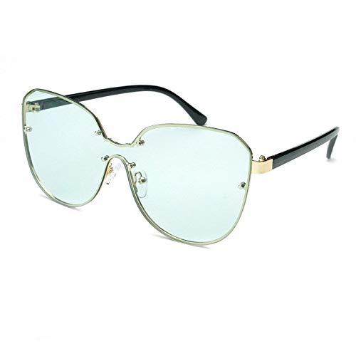 Gafas Gafas De Sol Integrales De Una Pieza Con Montura Grande, Parasol Y Gafas De Sol A Prueba De Viento Gafas de sol (Color : D)