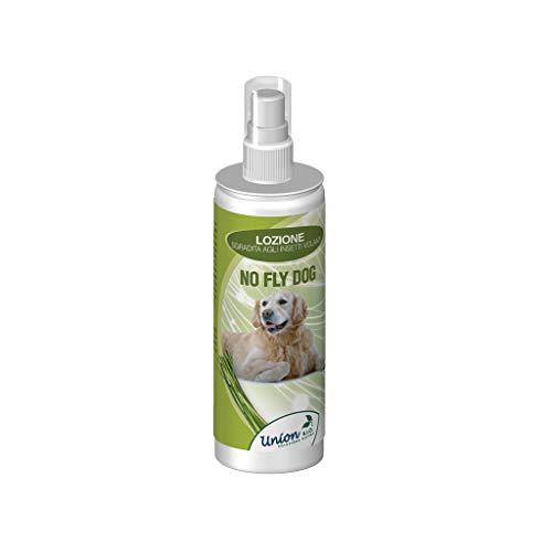 Union Bio Repellente Contro Pappataci, Flebotomi, Zanzare, Mosche - Spray Per Cani, Vegetale Naturale Leishmaniosi e Filariosi 125 Ml
