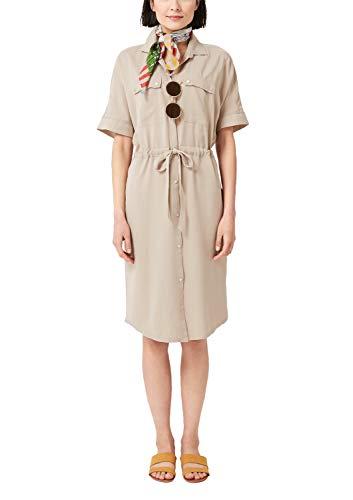 s.Oliver Damen 21.905.82.7235 Kleid, Braun (Brown 8216), (Herstellergröße: 38)