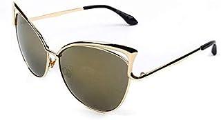 Cat-eye sunglasses girl metal Women Sunglasses UV Protect Sun Glasses