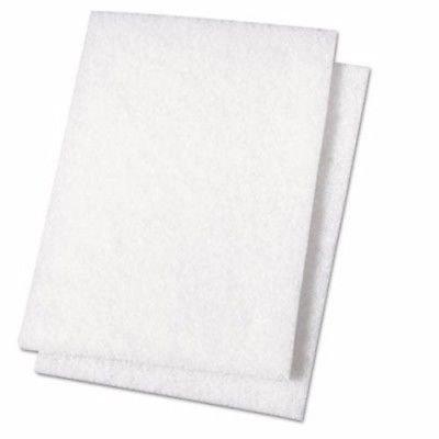 Hemway - Polierpads für Wände - zur Verwendung mit Glitzerzusätzen für Wandfarbe von Hemway - setzt zusätzlich Millionen von Glitzerkristallen frei - Weiß - 2 Stück