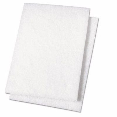 Hemway - Almohadillas abrillantadoras Blancas - para Usar con aditivos Brillantes para Pintura Saca más Brillo a la Superficie - Set de 2