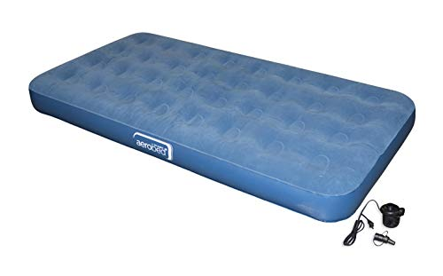 Aerobed Twin with Handheld Pump and Storage Bag Approx. Size: 74 x 39 x 8 inches Fits Standard Size Sheets