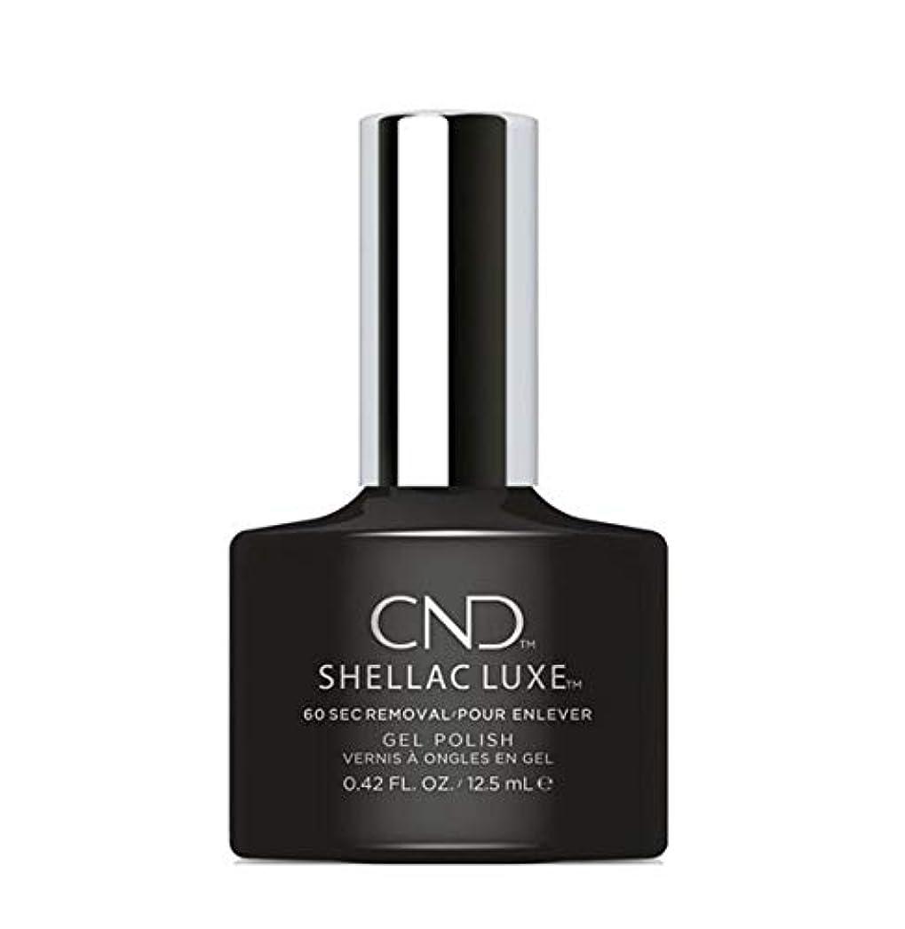 大宇宙空気がついてCND Shellac Luxe - Black Pool - 12.5 ml / 0.42 oz