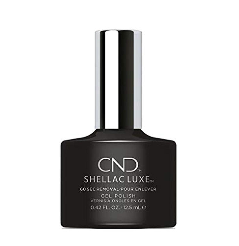 照らすリム感嘆CND Shellac Luxe - Black Pool - 12.5 ml / 0.42 oz